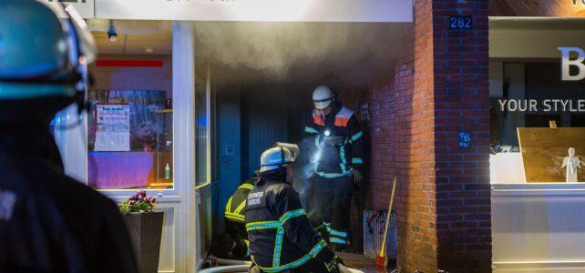 Kellerbrand im Mehrfamilienhaus