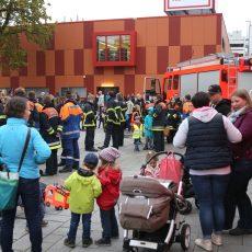 Laternenumzug der Feuerwehr